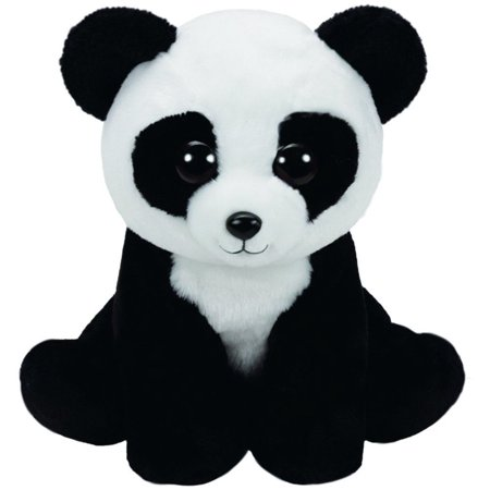Panda Beanie Baby (Baboo Panda Beanie Babies Medium 13 inch - Stuffed Animal by Ty (96305) )