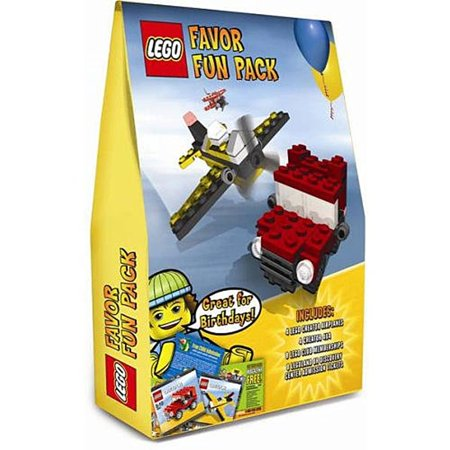Lego 8 Guest Favor set with 4 LEGO Creator Airplanes, 4 LEGO Creator 4x4 trucks, 8 LEGO Club memberships and 8 LEGOLAND or LEGOLAND Discovery Center admission tickets.
