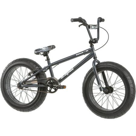 20 Mongoose Bmax All Terrain Fat Tire Mountain Bike Black Gray