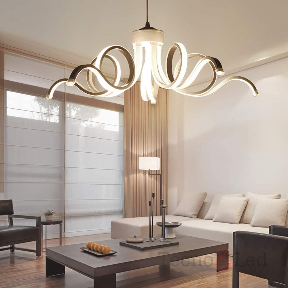 pendant lights chandelier living room ceiling lamp simple