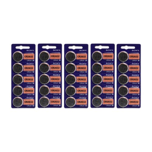 Sony CR2032 High Energy Button Cell Lithium Watch 3V Battery - 25 Pack