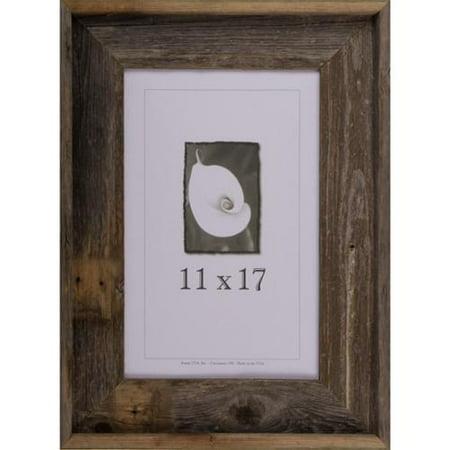 frame usa barnwood signature series picture frame 11 x 17. Black Bedroom Furniture Sets. Home Design Ideas