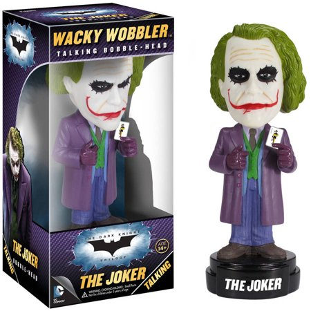 Funko Wacky Wobbler: Dark Knight Movie, The Joker](Dark Night Joker)