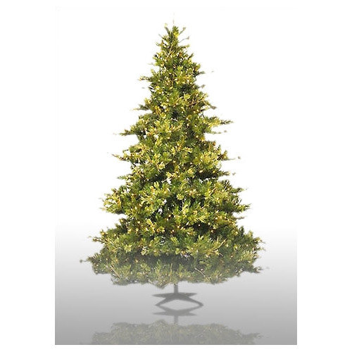 Vickerman Country Pine 6.5' Green Pine Artificial Christmas Tree with 500 Pre-Lit Clear Lights with Stand