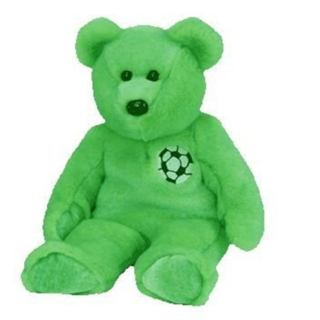 TY Beanie Buddy - KICKS the Soccer Bear by Ty Inc. ()