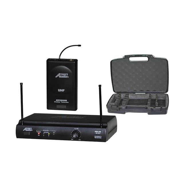 AUDIO2000S AWM6031DUG Guitar & Instrument Wireless System by Audio2000S