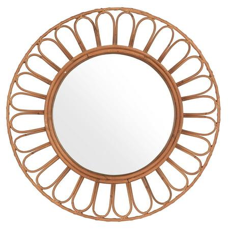 Mirrorize Canada Dia 28 Inches Azulik, Round Decorative Mirror Canada