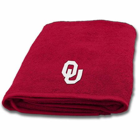 Oklahoma 3 Piece Bath - NCAA University of Oklahoma Bath Towel, 1 Each