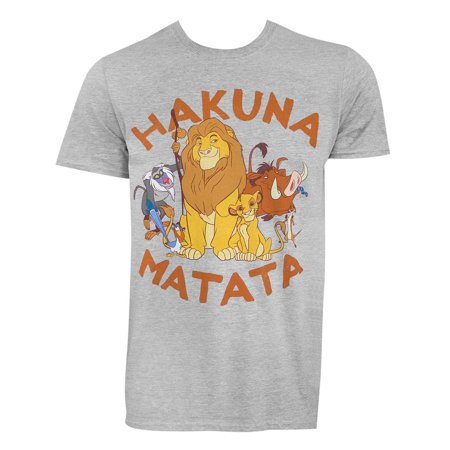 Lion King Hakuna Matata Tee Shirt - Lion King 2 This Is Halloween
