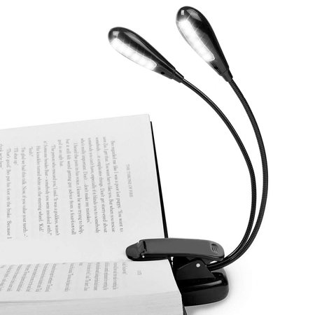Lights & Lighting Mini Led Book Light Clip-on Flexible Bright Lamp Light Book Reading Lamp For Travel Bedroom Book E-book Reader Gifts Latest Technology