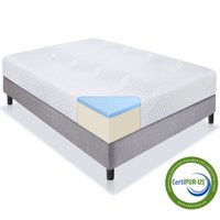 Best Choice Products 10-Inch Dual Layered Gel Memory Foam Mattress