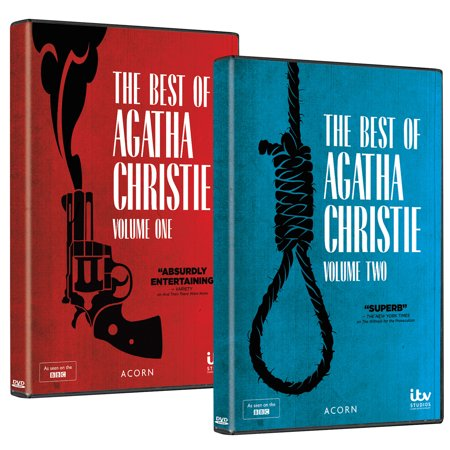 The Best of Agatha Christie: Volumes 1 & 2 DVD Boxed Set Region 1 (US & (Christie 1 Light)