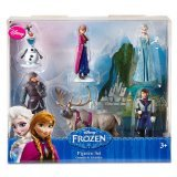 Disney Frozen 6 pc Figurine Figure Set Sven, Hans, Anna, Elsa, Kristoff and Olaf - Frozen Sven