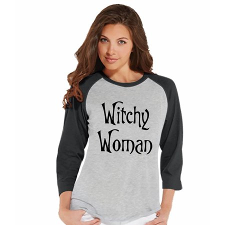 7 ate 9 Apparel Womens Witchy Woman Halloween T-shirt - Small](Hallowen Clothes)