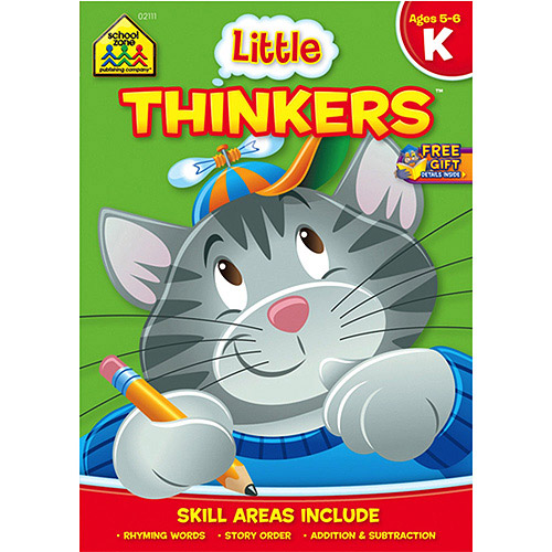 Preschool Workbooks, 32 Pages, Little Thinkers Kindergarten