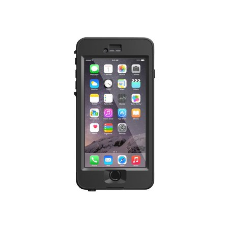 LifeProof NÜÜD Apple iPhone 6 Plus - Protective waterproof case for cell phone - black, smoke - for Apple iPhone 6 Plus (Iphone 6 Case Waterproof Apple)