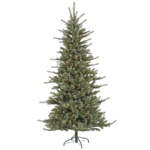 12' Pre-Lit Medium Colorado Blue Spruce Artificial Christmas Tree - Warm White LED Lights