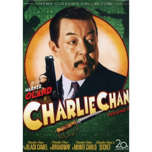 Charlie Chan Collection, Vol. 3 - Behind That Curtain / Charlie Chan's Secret / Charlie Chan At Monte Carlo / Charlie Chan On Broadway / The Black Camel (Full Frame)