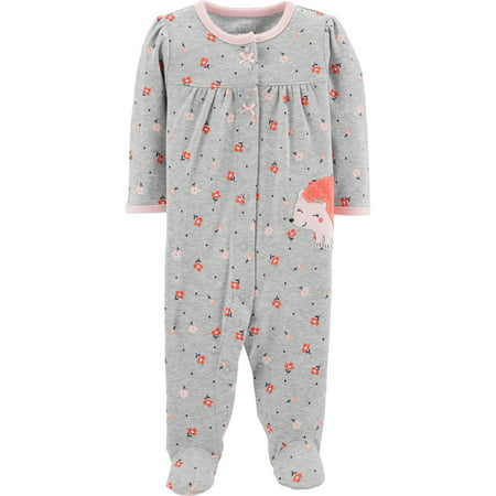 - Child of Mine by Carter's Sleep N' Play Pajamas (Baby Girls)