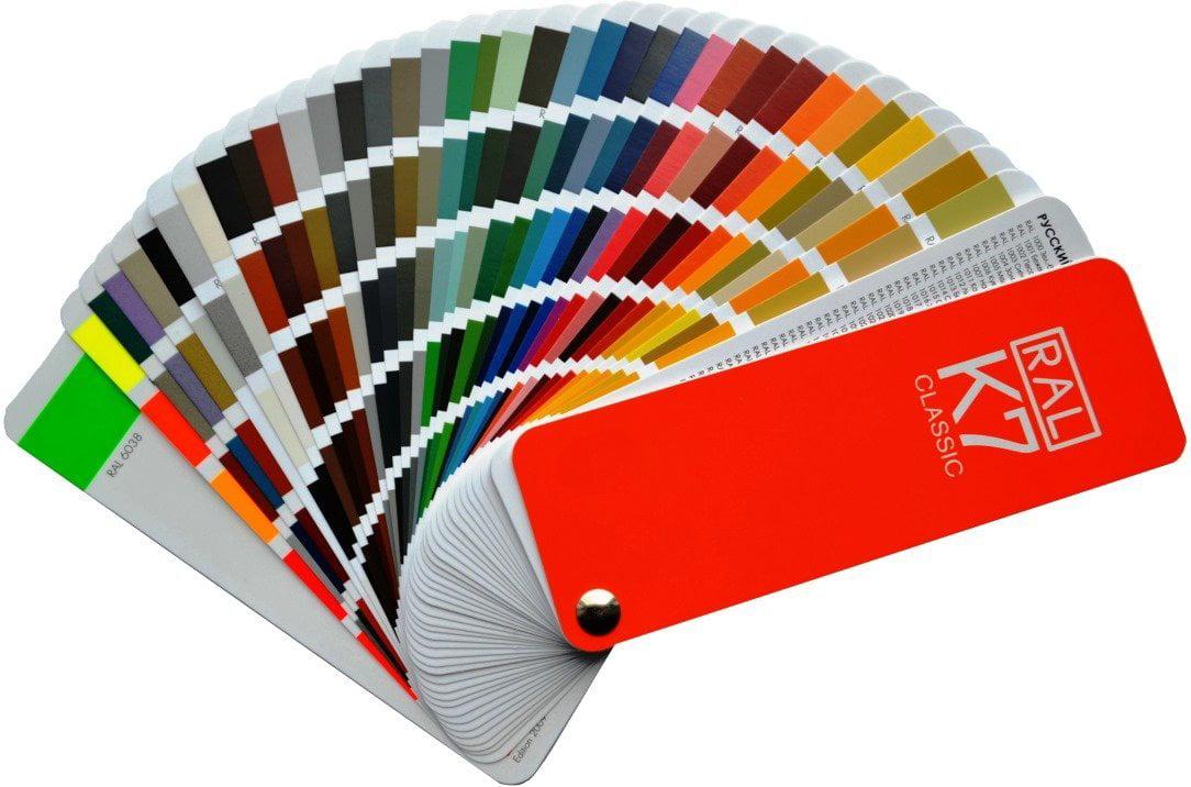 Ral Colour Fan Deck Ral Classic Colors By K7 Walmart Com