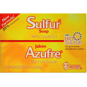 Grisi Bio Sulfur Soap with Lanolin, 4.4 oz (Pack of 4)