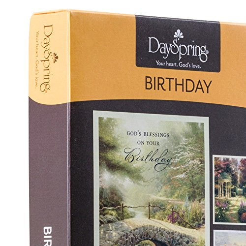 Birthday Boxed Cards Thomas Kinkade Painter Of Light 12 Ct With