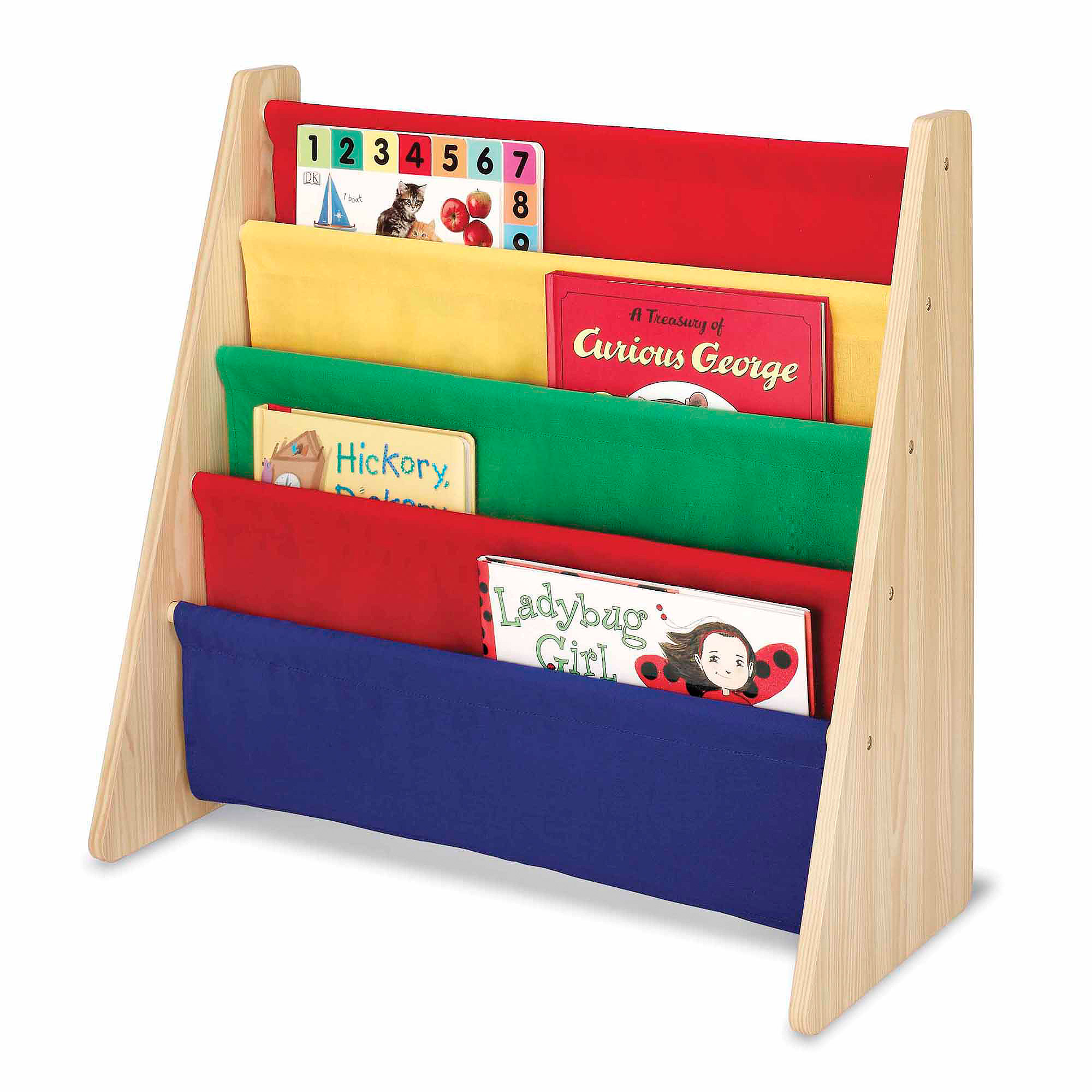 Whitmor Kids Book Organizer Primary