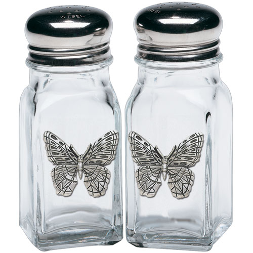 Butterfly Salt & Pepper Shakers