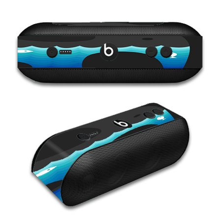 Skin Decal For Beats By Dr. Dre Beats Pill Plus / Elephant Art Water Fish