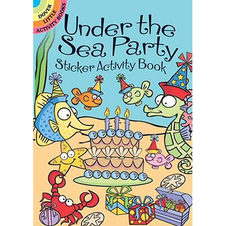 Under the Sea Party Sticker Activity - Graduation Party Activities