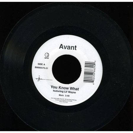 You Know What  Single   Vinyl   7 Inch