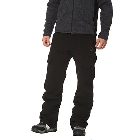 Gerry Men's Ski Snowboard Pant 4-Way Stretch, Black, Size 2X Large - NEW