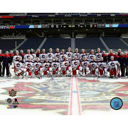 quality design 1fcfb 39fca The Winnipeg Jets Team Photo 2016 NHL Heritage Classic Photo Print