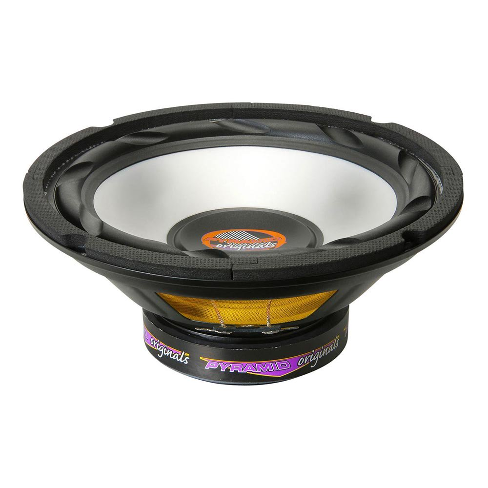 "Pyramid 8"" 300 Watts High Power White Injected P.P. Cone Woofer"