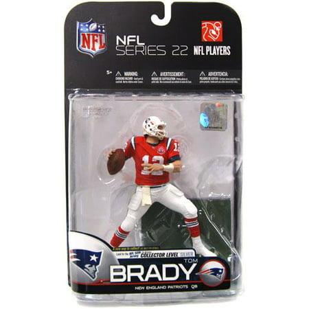 87fa9ec2 McFarlane NFL Sports Picks Series 22 Tom Brady Action Figure [Red AFL Jersey]  - Walmart.com