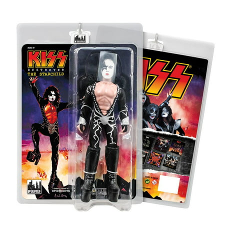 KISS 8 Inch Action Figures Series 7 Destroyer: The Starchild](Drax The Destroyer)