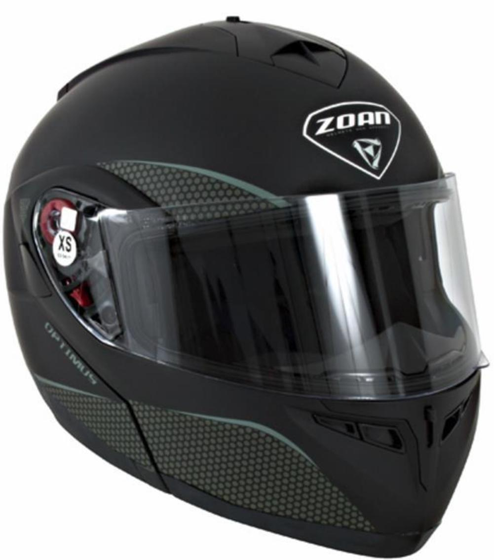 Zoan Optimus Solid Snow Helmet With Double Lens Shield