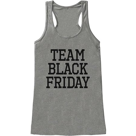 Custom Party Shop Womens Team Black Friday Tank Top Medium Grey