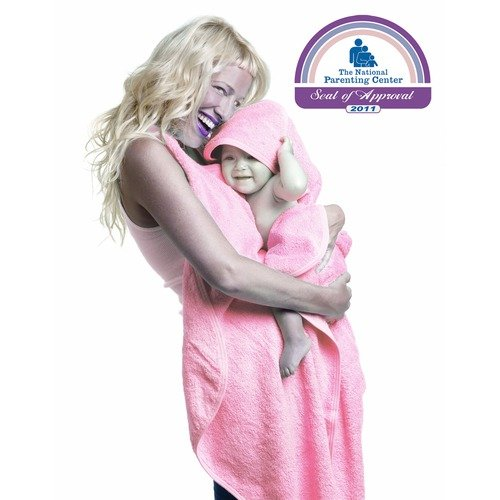 Simply Good Hands Free Hooded Baby Towel in Pink
