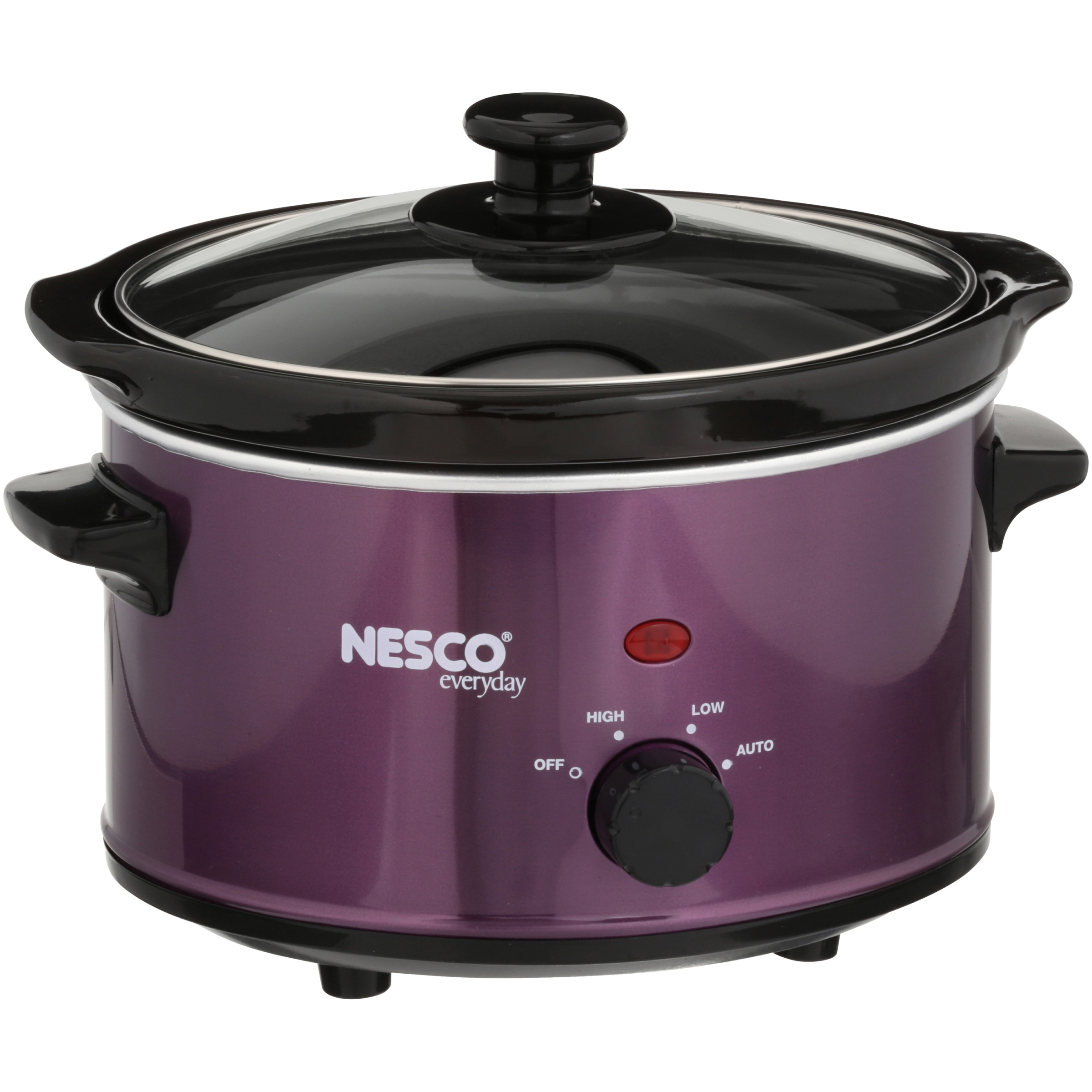 Nesco 1.5 Qt Slow Cooker (Metallic Violet)