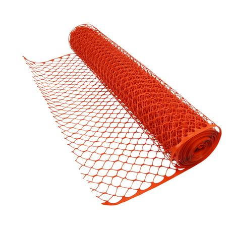 Image of Boen 4' X 50' HD Orange Safety / Snow Fence - Diamond