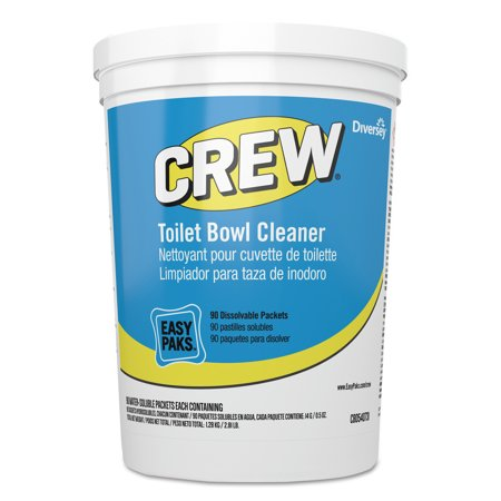 Crew Easy Pak, Pleasant Scent, 3.15 lb Packet, 90/Tub Easy Paks Detergent