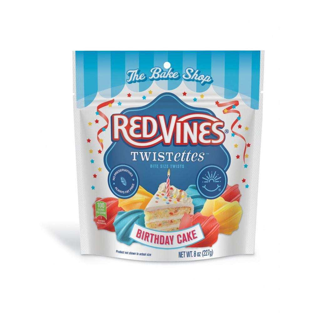 Red Vines Twistettes Birthday Cake Licorice, 8 Oz.
