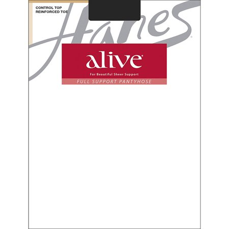 Silk Reflections Womens Alive Full Support Control Top Pantyhose