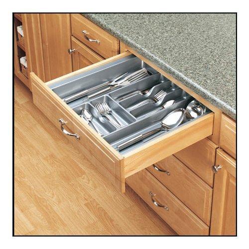 Rev-A-Shelf  CT-4-52  Cutlery Organizers  CT  Drawer Organizers  ;Metallic Silver