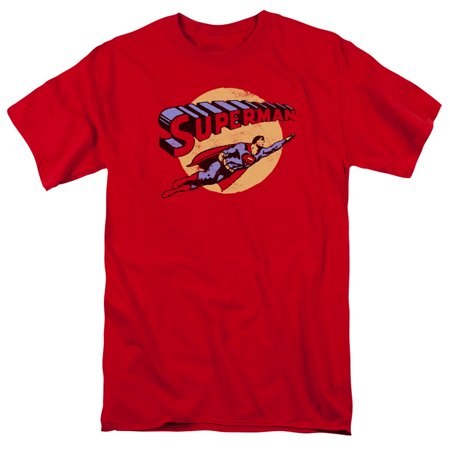 Superman Fly By S S Adult 18 1 Red 5X
