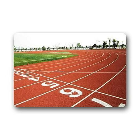 WinHome Plastic Runway Background Doormat Floor Mats Rugs Outdoors/Indoor Doormat Size 23.6x15.7 inches (Runway Mat)
