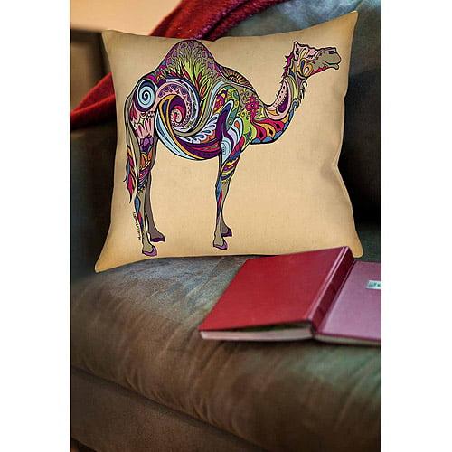 Thumbprintz Camel Indoor Pillow