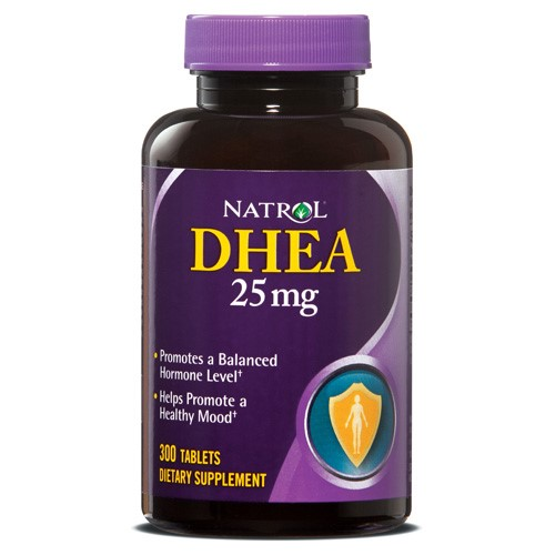Natrol DHEA 25mg Tablets, 300 Ct