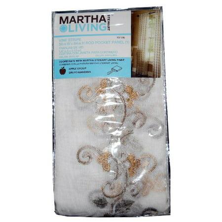 Vine Stripe 58in X 84in Burlap, Vine Stripe By Martha Stewart Living](Martha Stewart Living Halloween)